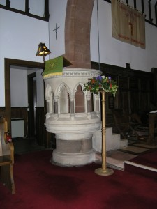 The Pulpit at St Mary's